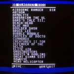 sd2iec - FileBrowser looking at GB64 Classics directory